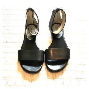 Michael Kors black gladiator sandals